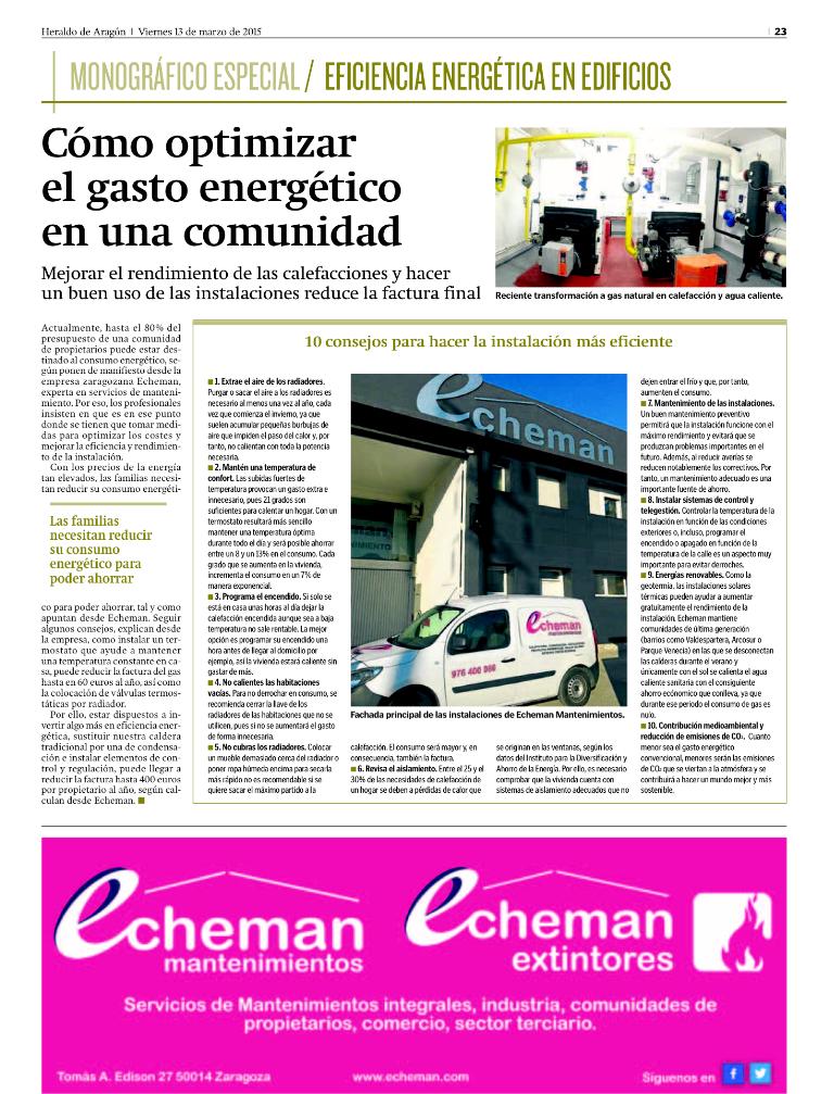 anuncio heraldo Eficiencia Energetica